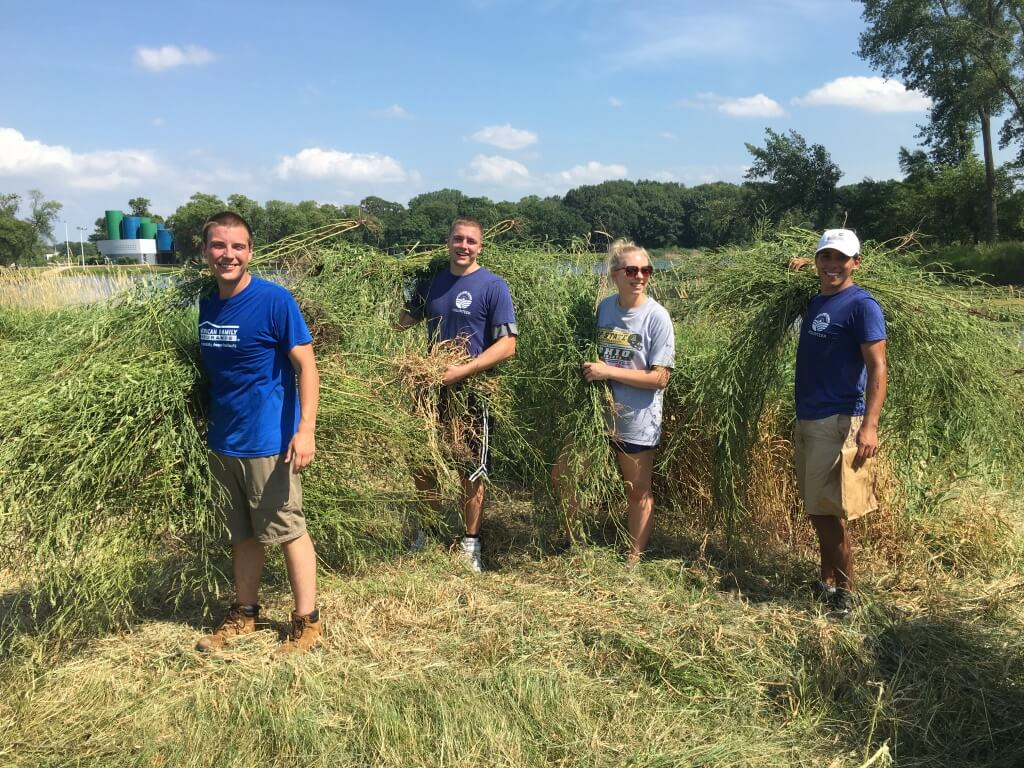 Volunteer for our lakes - keep our lakes happy!