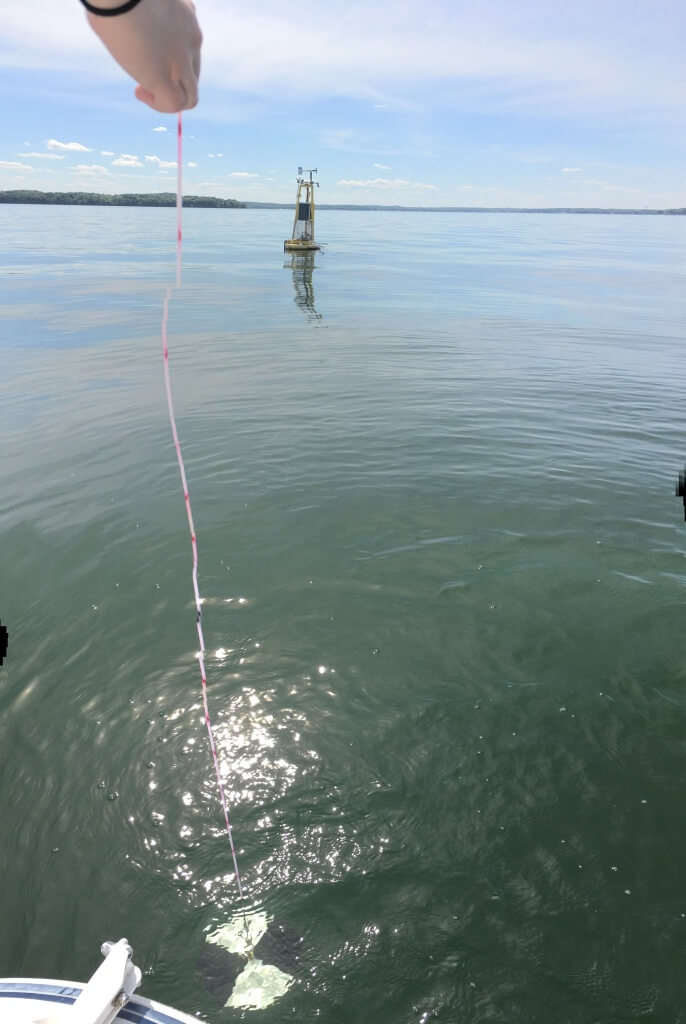 Off-shore water quality monitoring