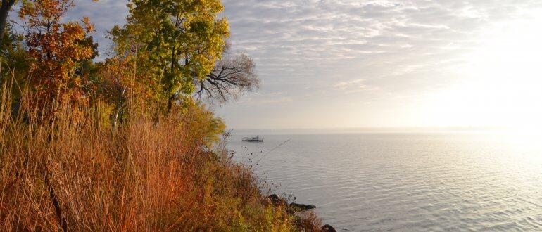 lake-monona sun and fall