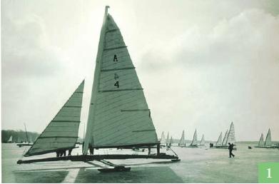 Mary B on Lake Mendota (1955). Photo courtesy of Jay Payton.