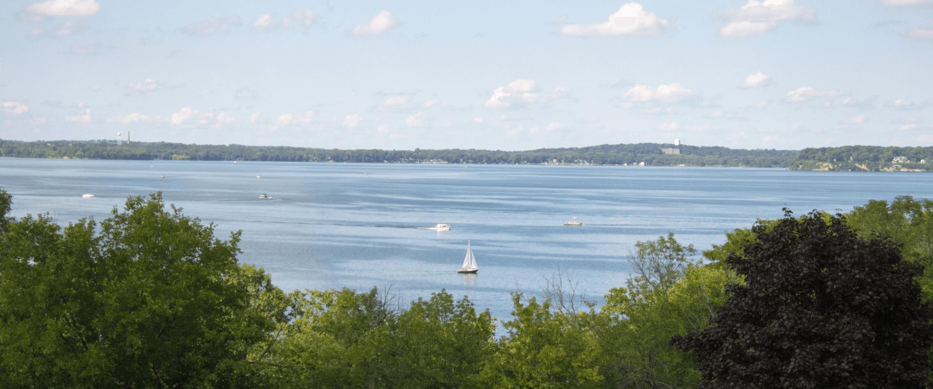 View of Lake Mendota