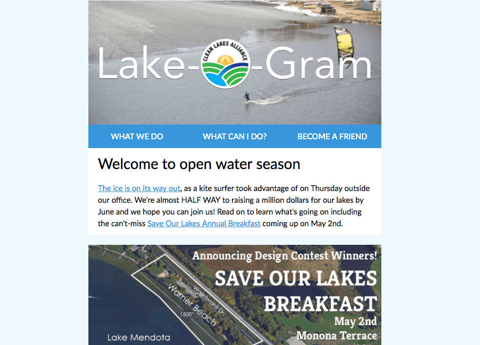 Lake-O-Gram April 2018