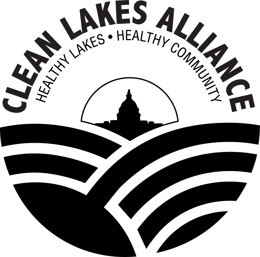 Clean Lakes Alliance Logo - Black and white