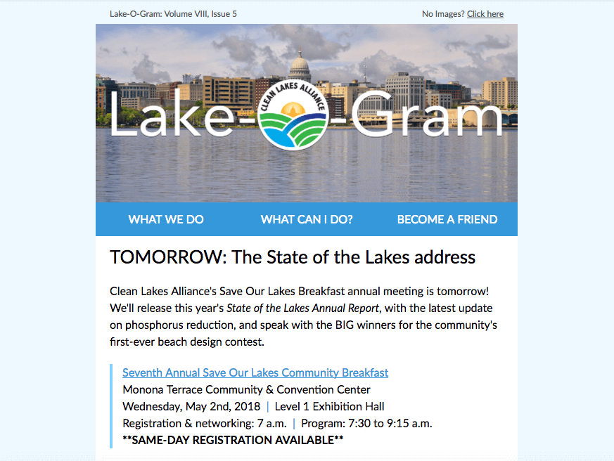 Lake-O-Gram May 2018