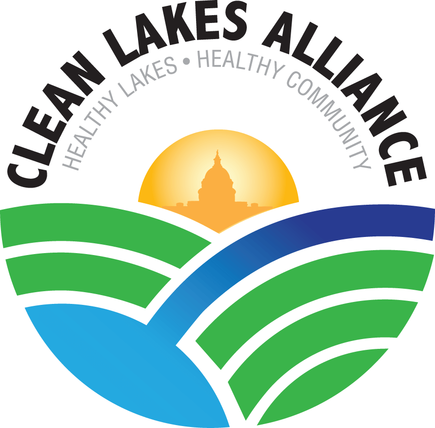 Clean Lakes Alliance Logo with tagline