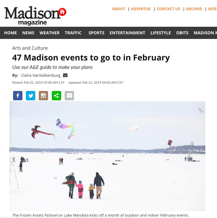 Madison Magazine 1Feb2019