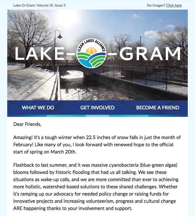 Lake-O-Gram March 2019