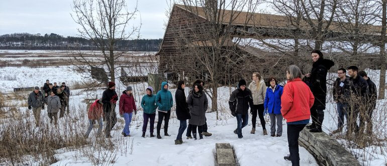 2019 Yahara Watershed Academy Class 2 at UW-Arboretum
