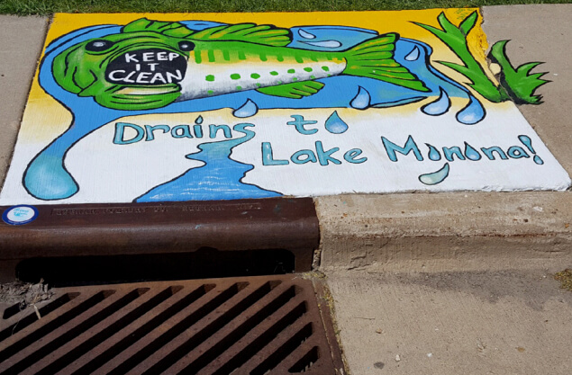 """Adopt a Storm Drain"" project"