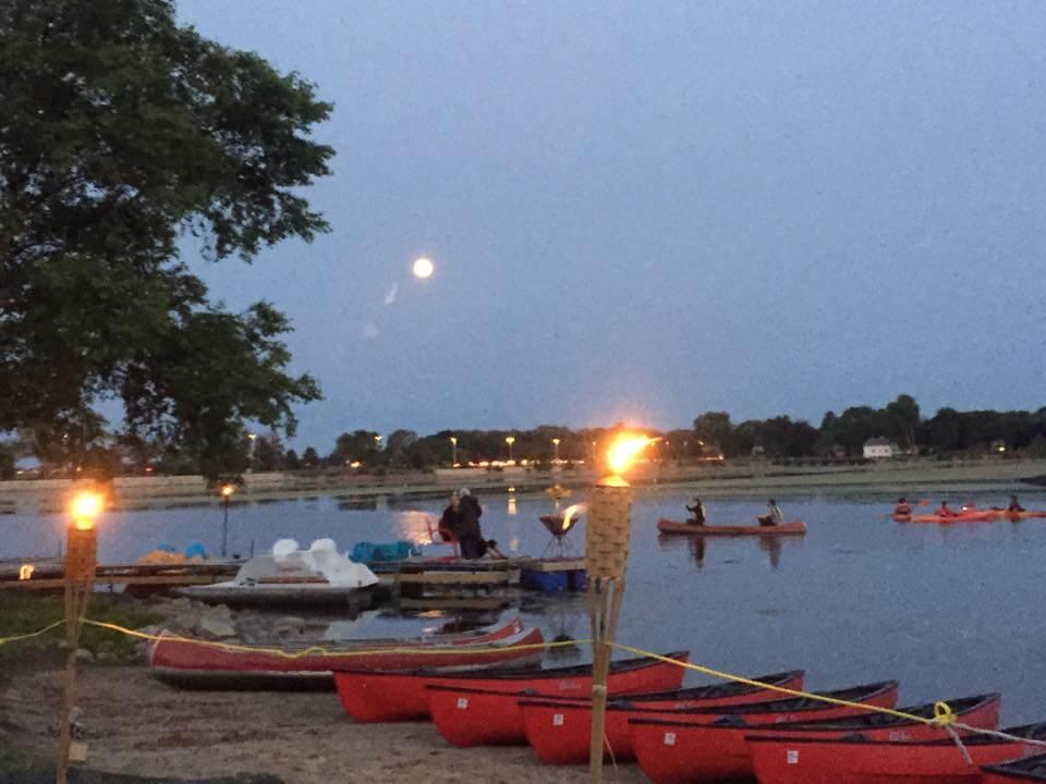 Full Moon Paddle - Courtesy Brittingham Boats