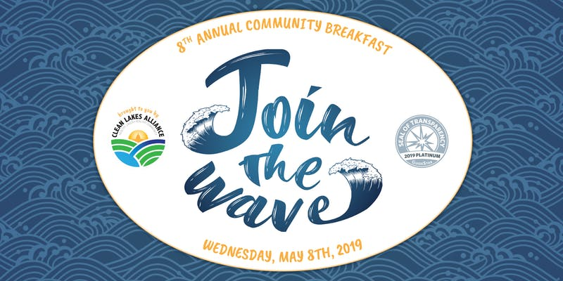 "Get involved and ""Join the Wave"" at the 8th Annual Community Breakfast"