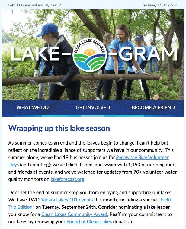 Lake-O-Gram September 2019