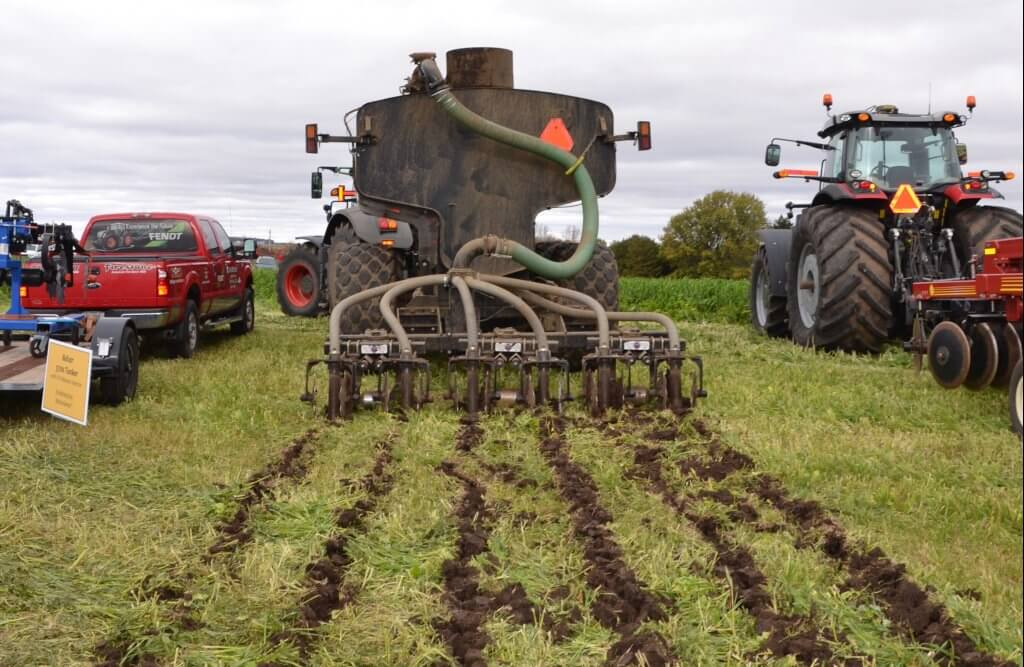 Low disturbance manure injector (LDMI equipment)