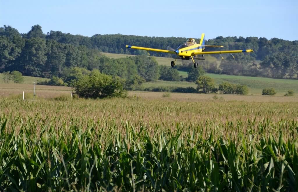 Yahara Pride Farms - Aerial Seeding