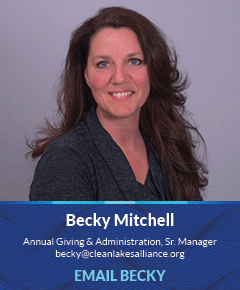 Becky Mitchell, Annual Giving & Administration Senior Manager
