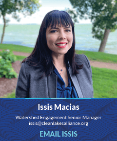 Issis Macias, Watershed Engagement Senior Manager