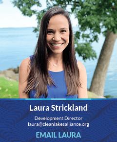 Laura Strickland, Development Director