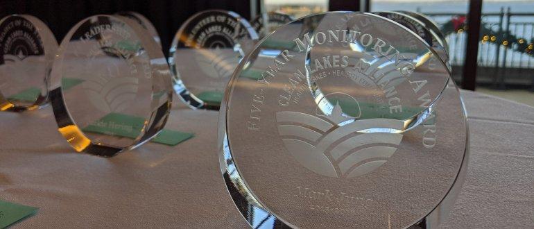 2019 Clean Lakes Community Awards - awards
