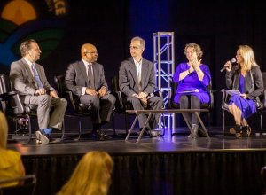 2019 Community Breakfast - Guests on stage