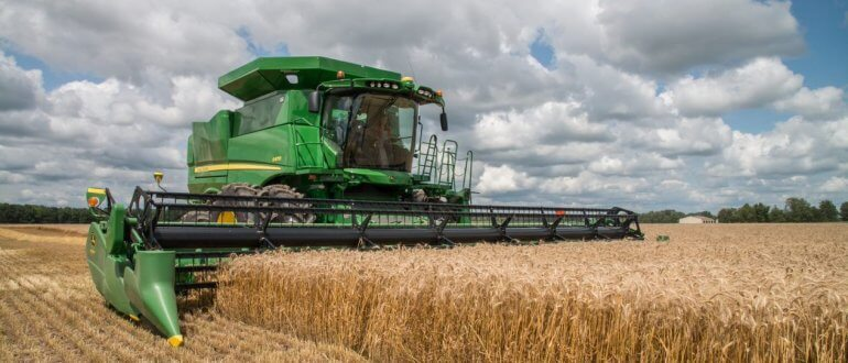 Combine, Courtesy Illinois Farm Bureau