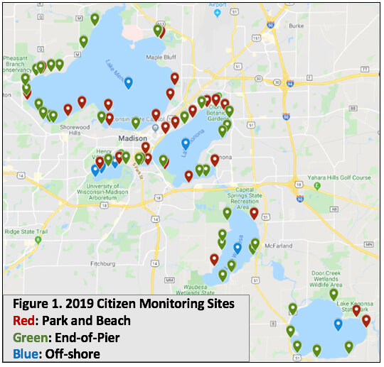 2019 Citizen Monitoring Sites