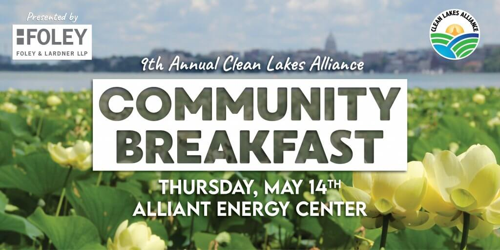 9th Annual Clean Lakes Alliance Community Breakfast