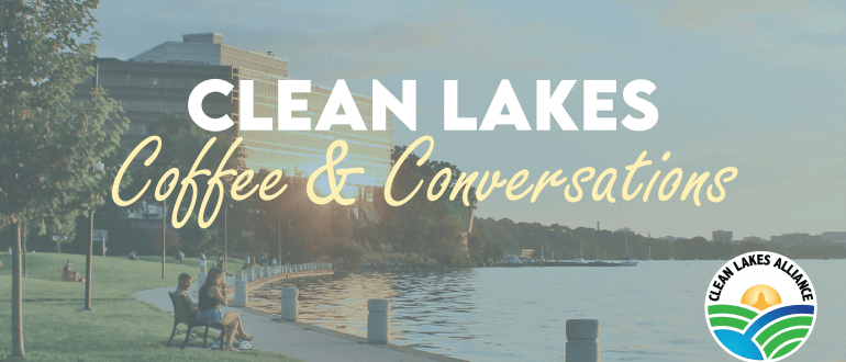 Clean Lakes Coffee & Conversations - Header