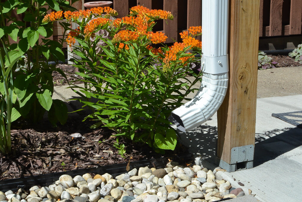 Redirect your downspout to help the lakes
