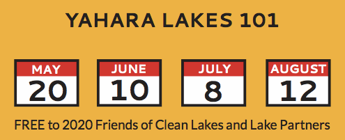 Yahara Lakes 101 - Summer 2020