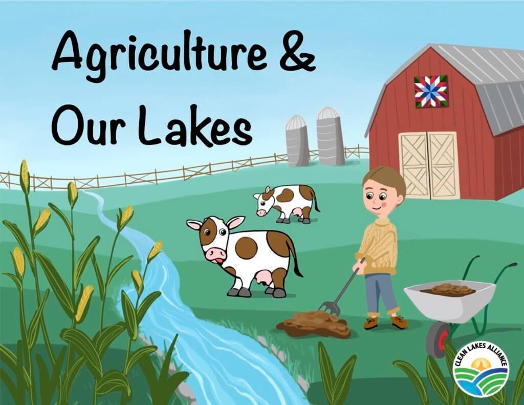 5thGradeBook-AgricultureAndOurLakes-TitlePage
