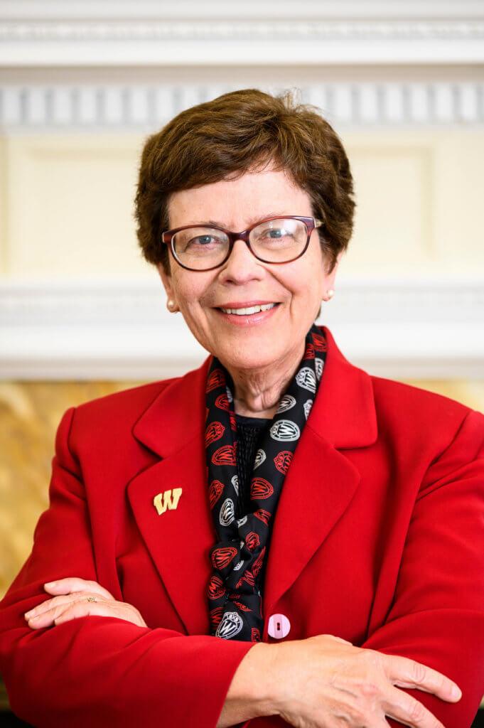 Chancellor Rebecca Blank - Organization Lake Leadership Award 2020