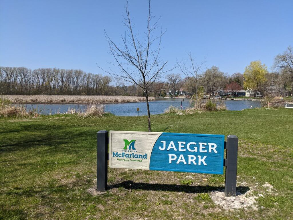 Jaeger Park on the Yahara River