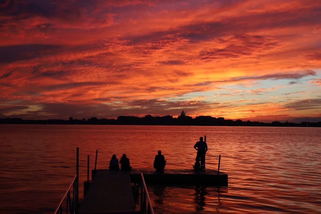 Wyldhaven Park and Lake Monona, courtesy Kenton Fowler