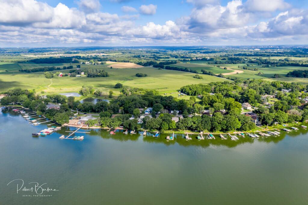 Lake Waubesa shoreline, courtesy Robert Bertera