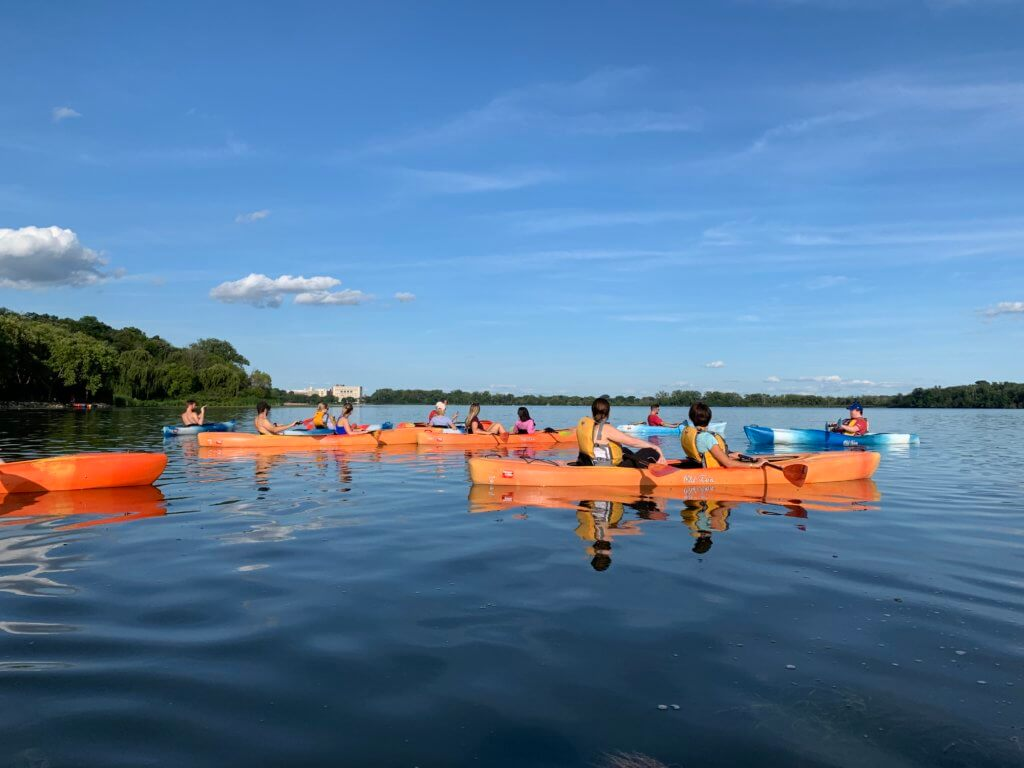 Madison Magnet Kayaks for a Cause - Lake Wingra