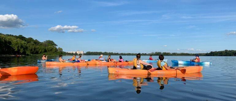 Madison Magnet Kayaks for a Cause - Lake Wingra