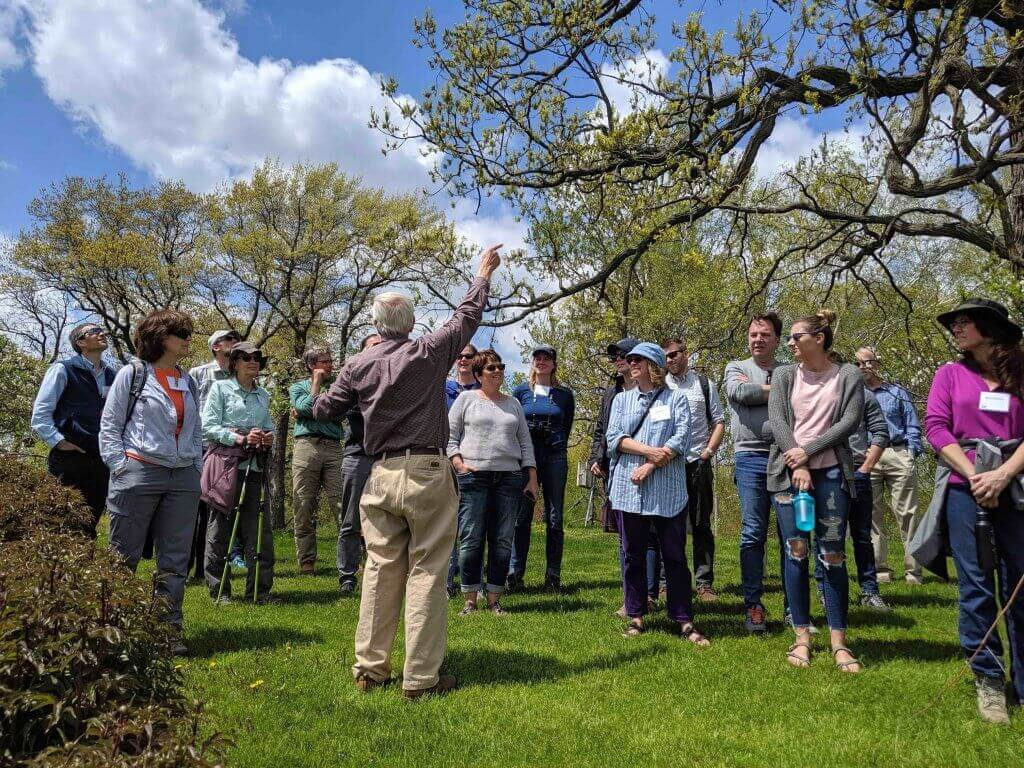 Yahara Watershed Academy learns in the Waubesa Wetlands