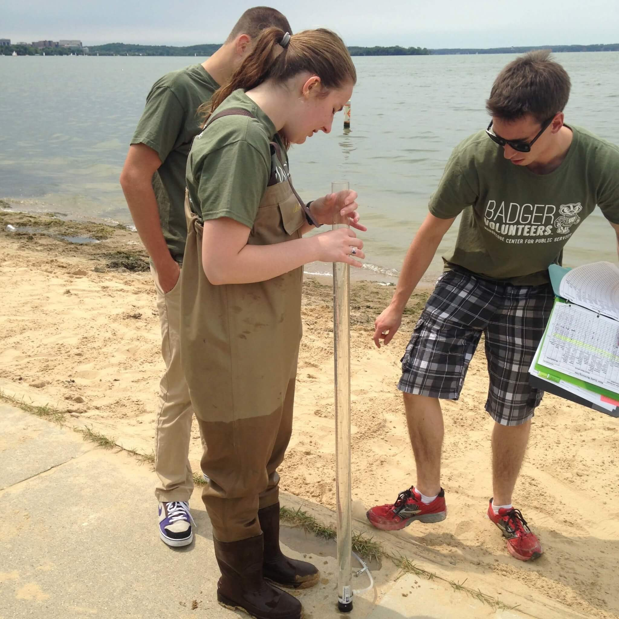 Badger Volunteers - Water Quality Monitoring